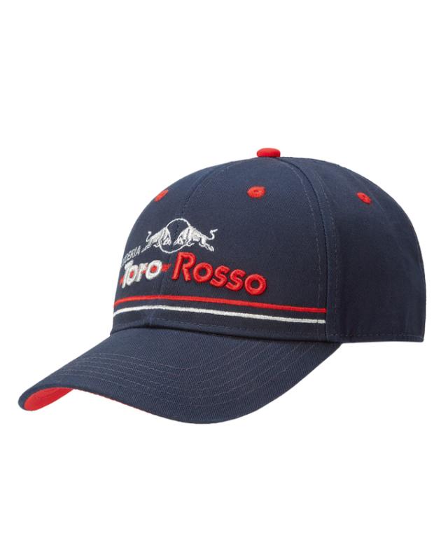 REDBULL TOROROSSO HONDA 2019 レッドブル・トロロッソ・ホンダ チームライン キャップ