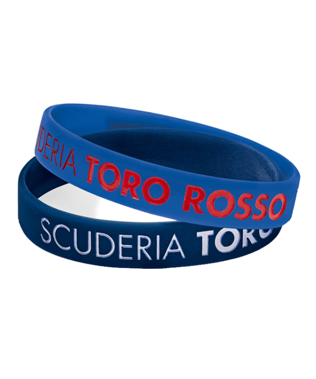 REDBULL TOROROSSO HONDA 2019 レッドブル・トロロッソ・ホンダ REFLEX リストバンド(2本セット)
