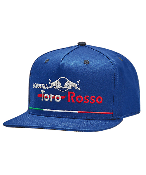 REDBULL TOROROSSO HONDA 2018 レッドブル・トロロッソ・ホンダ イタリアGP限定キャップ フラットタイプ