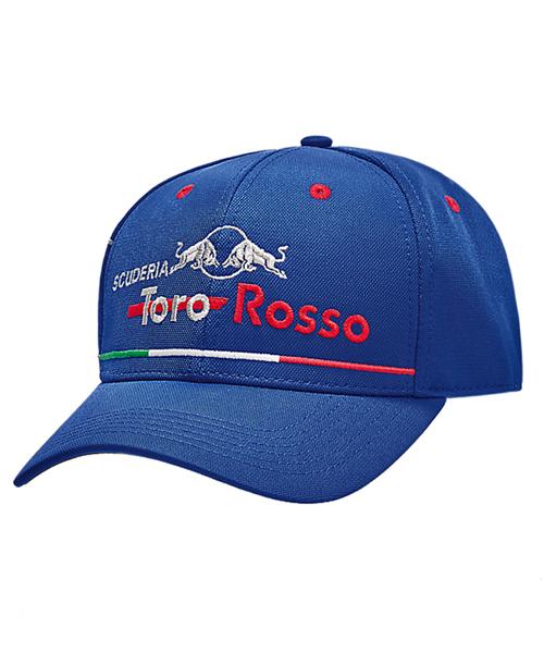 REDBULL TOROROSSO HONDA 2018 レッドブル・トロロッソ・ホンダ イタリアGP限定キャップ ベースボールタイプ