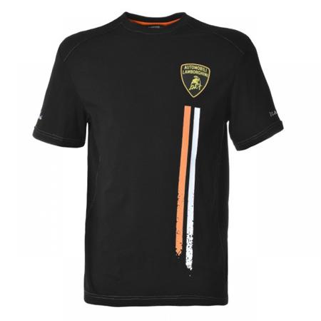 ランボルギーニ SUPERTROFEO ラインTシャツ ブラック