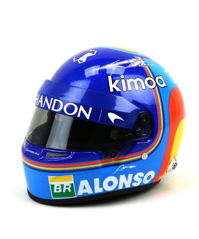 【再入荷】マクラーレン2018  F.アロンソ 1/2  ヘルメット