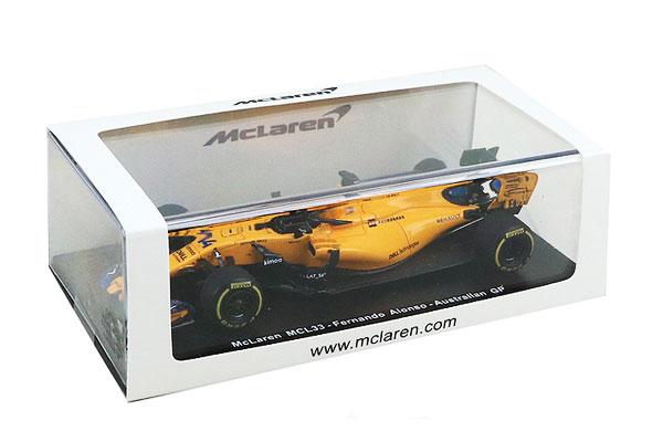 マクラーレン別注 スパーク 1/43 マクラーレン ルノーMCL33 F.アロンソ(ノンドライバー仕様)