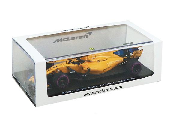 マクラーレン別注 スパーク 1/43 マクラーレン ルノーMCL33 S.バンドーン(ノンドライバー仕様)