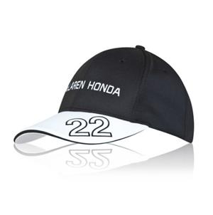 マクラーレン ホンダ  2015 ドライバーズキャップ バトン (キッズキャップ)