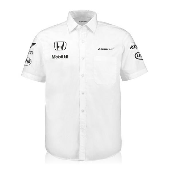 マクラーレン ホンダ 2016 チーム ピットシャツ