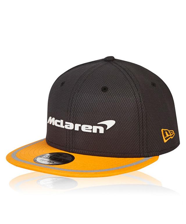 2018 マクラーレン チームキャップ NEWERA® 9Fifty™ フラットタイプ
