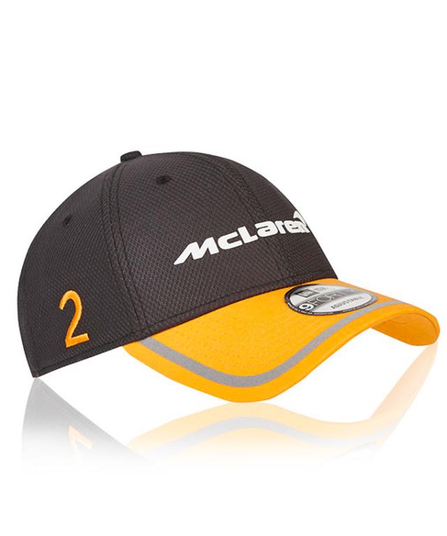 2018 マクラーレン S.バンドーン ドライバーズキャップ NEWERA® 9Forty™ ベースボールキャップ