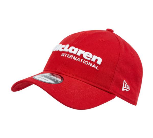 【再入荷】マクラーレン ヘリテージコレクションMP4/4 ワールドチャンピオン 30周年 記念キャップ レッド(NEWERA製