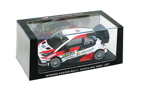 TOYOTA GAZOO Racing別注 スパーク 1/38 ヤリス WRC 2017(ダイキャスト製)