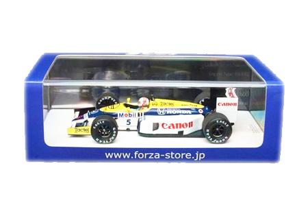 【国内別注】スパーク 1/43 ウィリアムズ ホンダ FW11 中嶋悟 1986年鈴鹿エンジンテスト