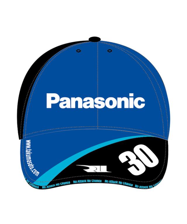 佐藤琢磨 TSドライバーズキャップ2021 (Panasonicロゴ)