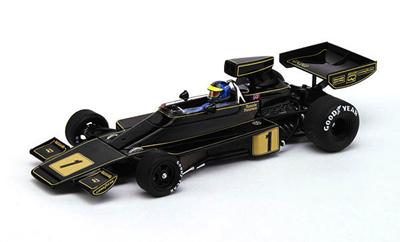 トゥルースケールモデル 1/43 ロータス 76 R.ピーターソン 1974年ドイツGP NO.1