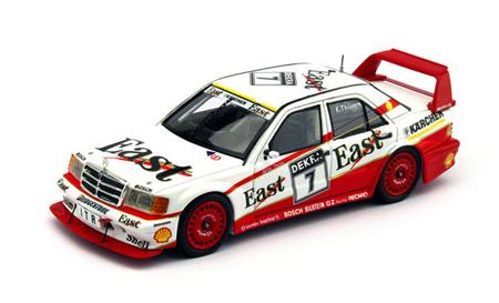 トゥルースケール 1/43 メルセデスベンツ 190E EVO2 K.Thiim  1991 DTM No.7 East