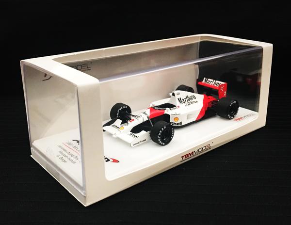 トゥルースケールモデル 1/43 マクラーレンMP4/6 G.ベルガー 1991年日本GP 優勝 当店オリジナルタバコロゴモデル