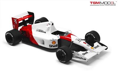 トゥルースケールモデル(TSM)1/43 マクラーレンMP4/6 セナ 1991年 日本GP2位 デカール付き