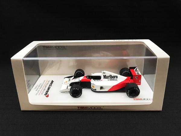 【再入荷】トゥルースケールモデル 1/43 マクラーレンMP4/6 A,セナ 1991年日本GP 2位 当店オリジナルタバコロゴモデル