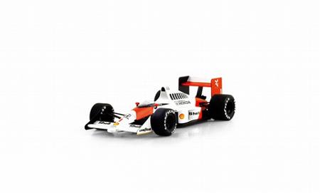 トゥルースケール  1/43 マクラーレン MP4/5 A.セナ 1989年ドイツGP優勝 No.1