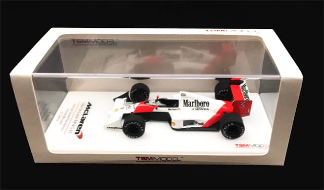 トゥルースケール 1/43 マクラーレン MP4/5 A.セナ 1989年ドイツGP優勝 当店オリジナルタバコロゴモデル