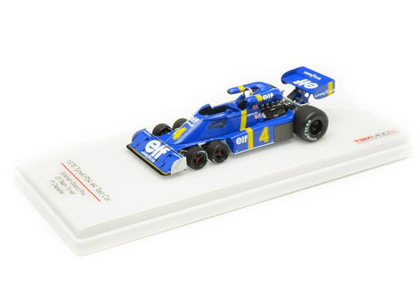 トゥルースケール 1/43  ティレル P34 テストカー P.デパイユ エルフ・チーム・ティレル 1976年スペインGP NO.4