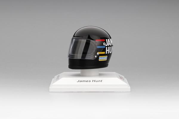 トゥルースケール 1/8 ジェームス・ハントヘルメット  1973 ヘスケスレーシング