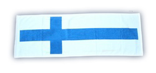 【SALE】国旗タオル フィンランド