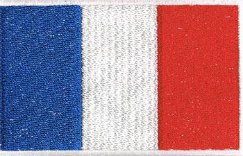 国旗ワッペン フランス(大)
