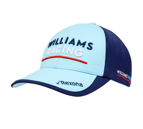 2018 ウィリアムズ チームキャップ ネイビー×水色