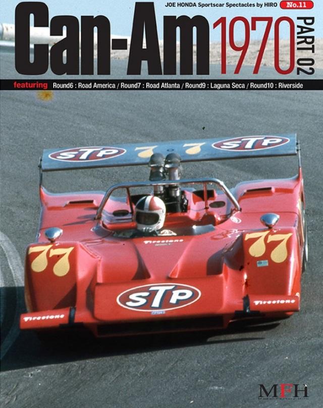 ジョーホンダ写真集『スポーツカースペクタクルズ」VOL.11 「Can-Am 1970 PART-02」