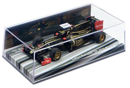 ルノー別注 1/43 ロータスルノーGP 2011ショーカー(ノンドライバー) NO.9