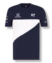 2021アルファタウリ・ホンダ チームTシャツ