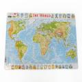 ラーセン パズル 80ピース 世界地図2