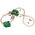 スペシャルレールセットA 基本の8の字セットと緑のトンネル&音踏切のセット