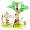 tiger traibe/木製組立おもちゃ 木の上の小屋1
