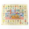 ラーセン 知育玩具 3歳頃~ パズル 70ピース 楽しく英語を学ぼう