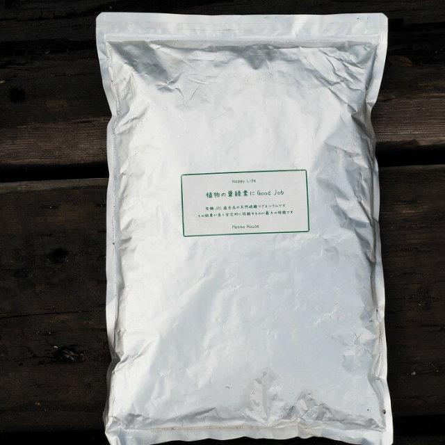 天然硫酸マグネシウム 植物の葉緑素にGoodJob
