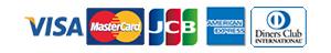 visa,mastercard,JCB,AMERICANEXPRESS,ダイナースクラブカード