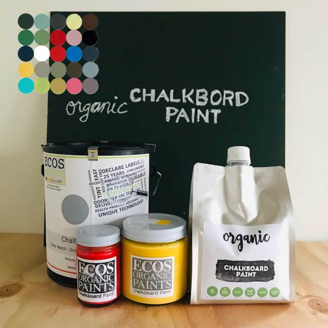 黒板塗料 チョークボードペイント オーガニック水性塗料