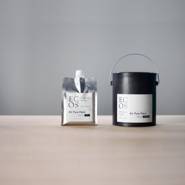 空気清浄 エアピュアペイント オーガニック水性塗料