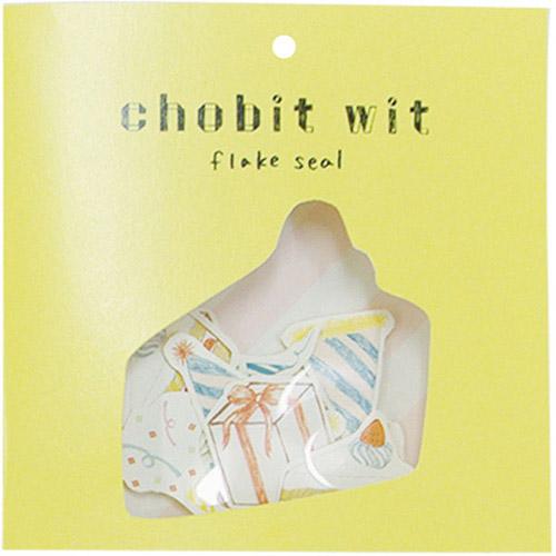 chobit wit フレークシール<birthday_party>