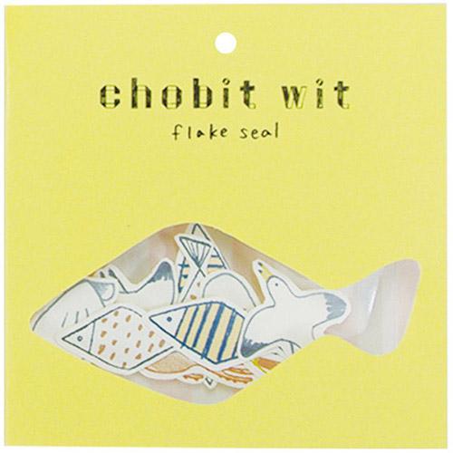 chobit wit フレークシール<sea>