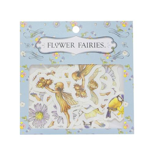 FLOWER FAIRIES フレークシール<blue>