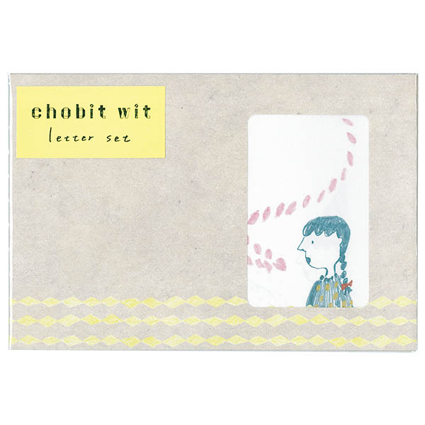 chobit wit レターセット<三つ編みガール>