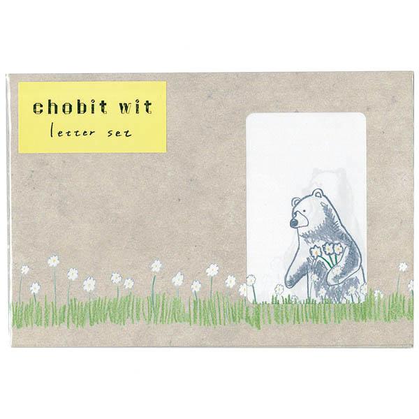 chobit wit レターセット<bear>
