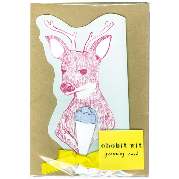 chobit wit グリーティングカード<deer>
