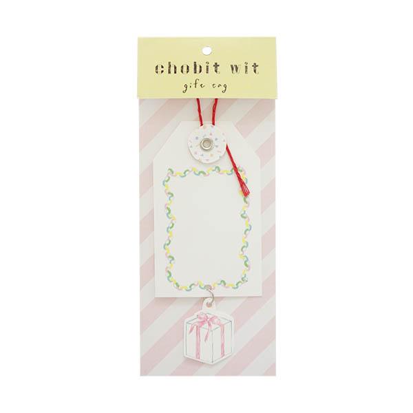 chobit wit ギフトタグ<box>
