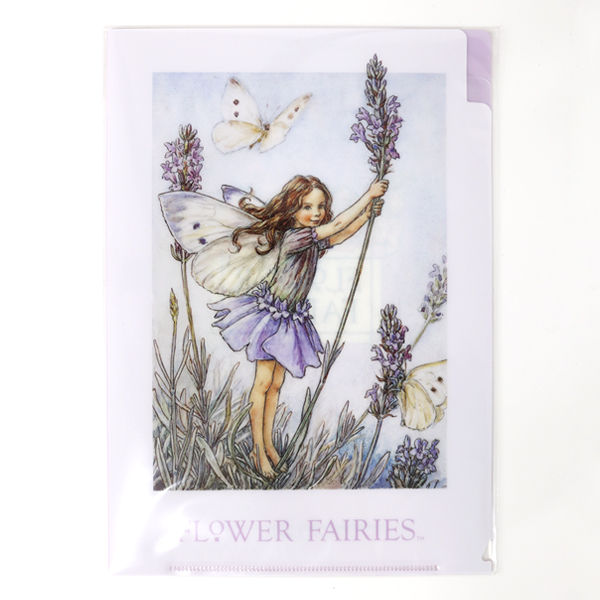 FLOWER FAIRIES A5クリアファイル<Lavender>