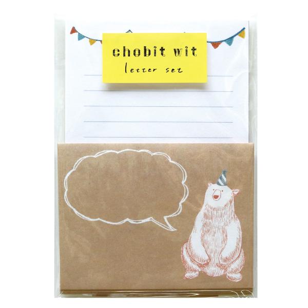 chobit wit ミニレターセット<bear>