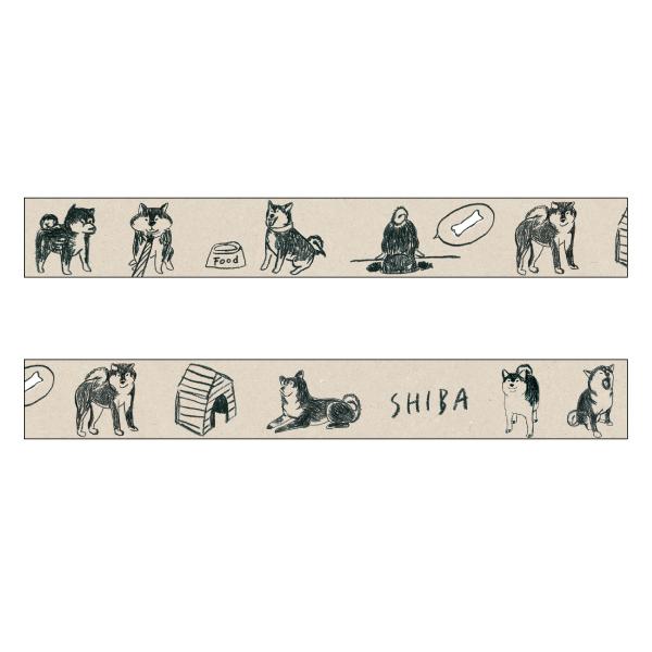 chobit wit マスキングテープ<shiba>CW-131
