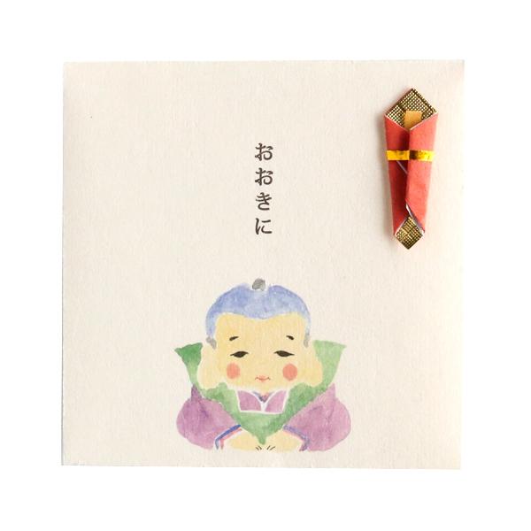 おいわいのし ポチ袋<福助人形>OG-059